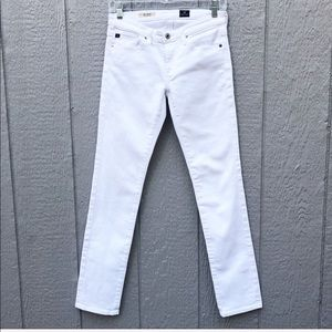 ADRIANO GOLDSCHMIED The Stevie White Slim Jeans